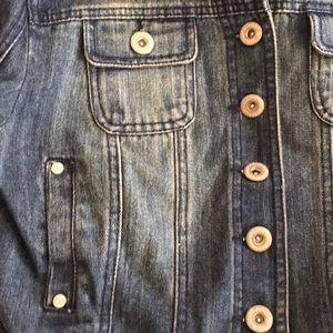 Highway Jeans Jackets & Coats - Highway Crop Jean Jacket L